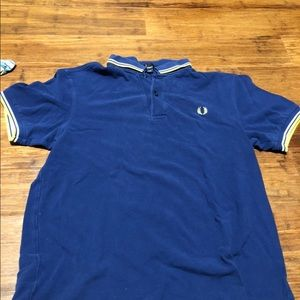 Fred Perry Medium blue polo
